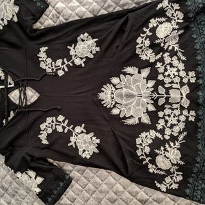 Free people tunic with pockets size l